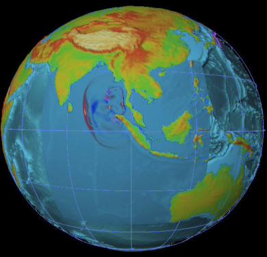 Tsunami snapshot